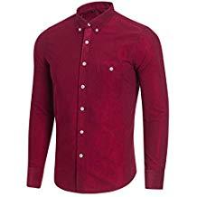 Camisa de pana de manga larga