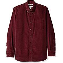 Camisa de pana standard fit