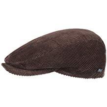 Gorra de pana con forro acolchado