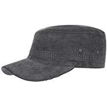 Gorra de pana militar