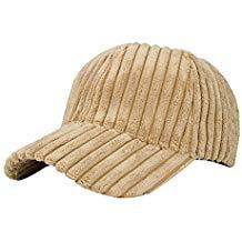 Gorra de pana unisex