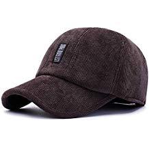 Gorra de pana con orejeras