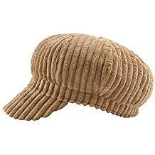 Gorra de pana de pintora