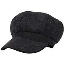 Gorra de pana para mujer
