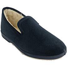Zapatillas de pana con suela de goma