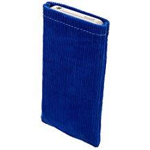 Fundas de pana para smartphone azules